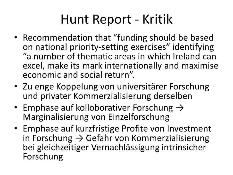 Hunt Report - Kritik