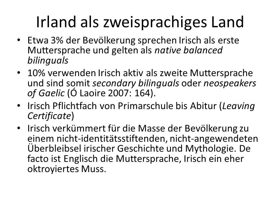 Irland als zweisprachiges Land