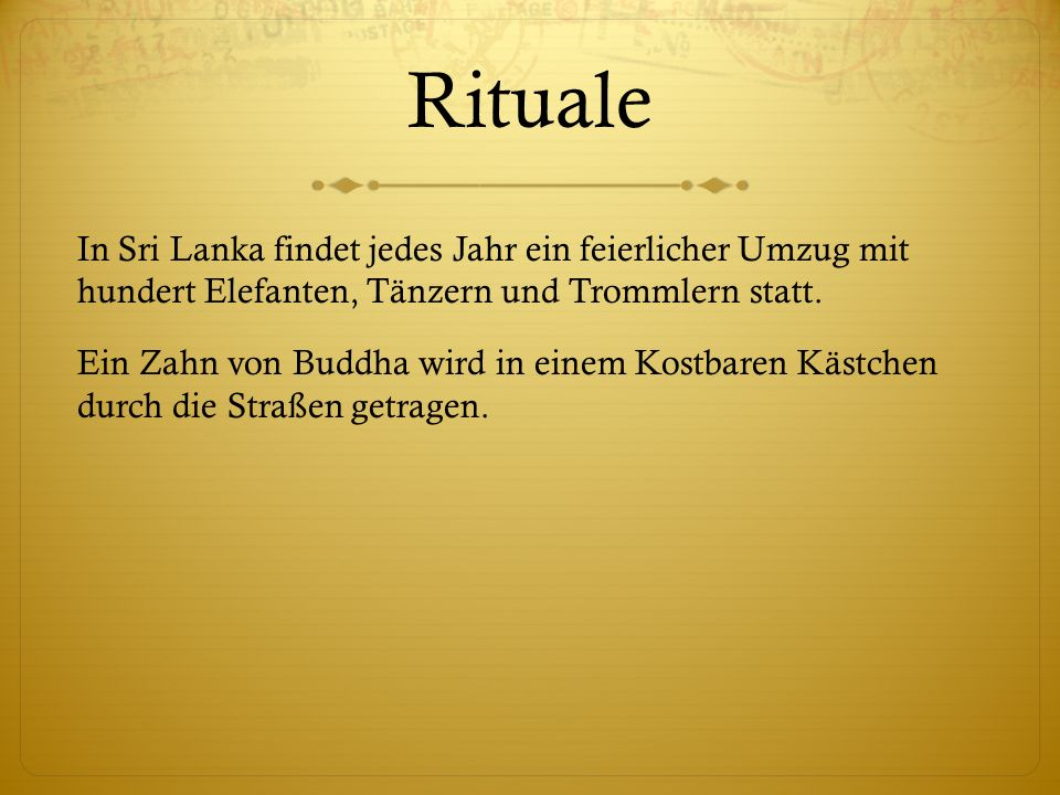 Rituale