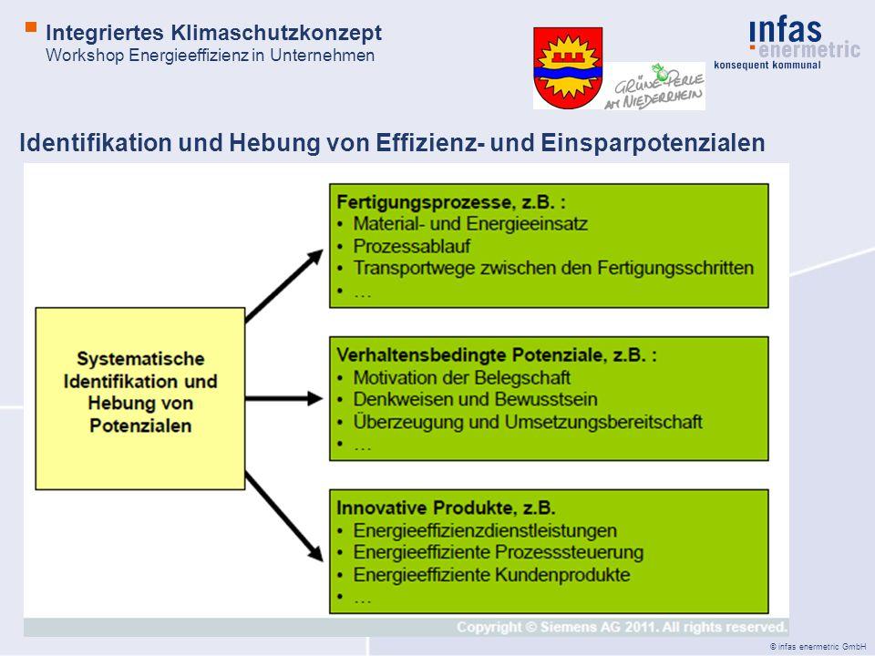 Identifikation und Hebung von Effizienz- und Einsparpotenzialen