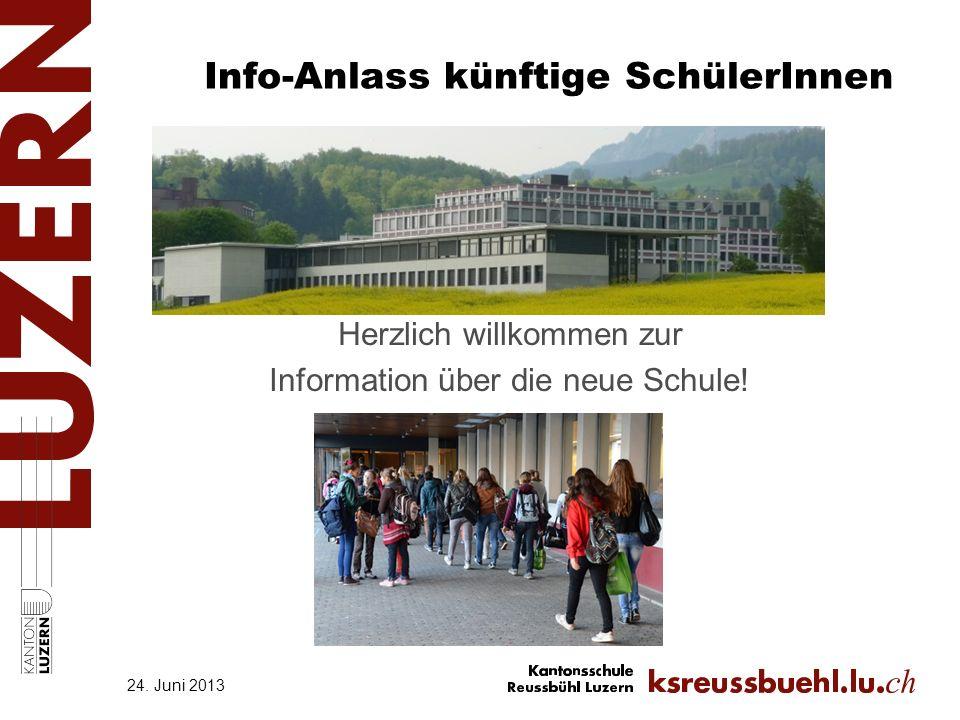 Info-Anlass künftige SchülerInnen