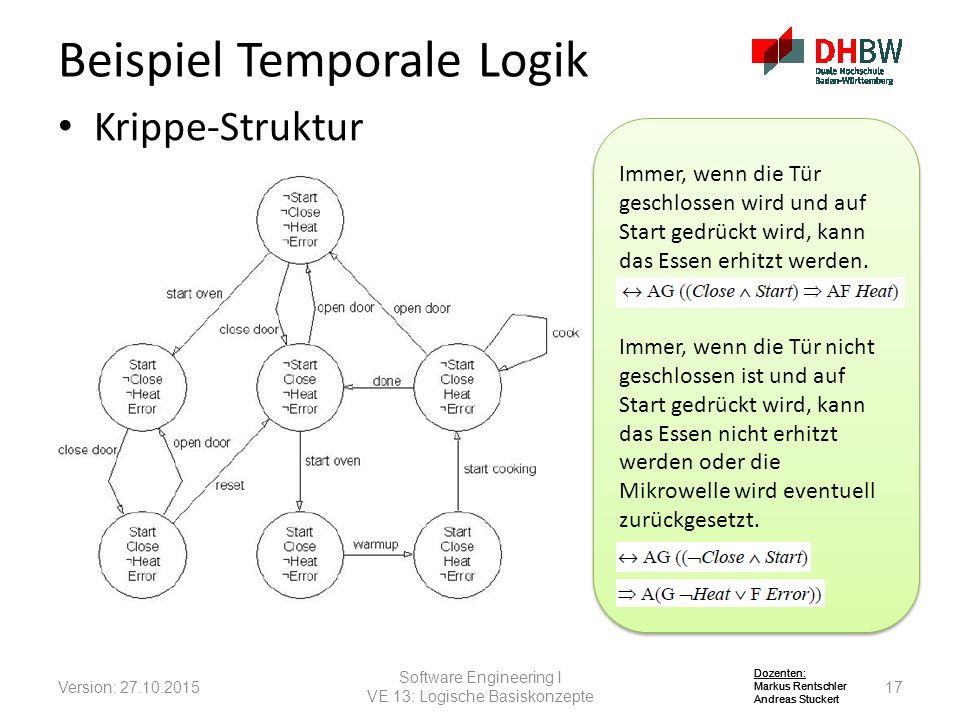 Beispiel Temporale Logik