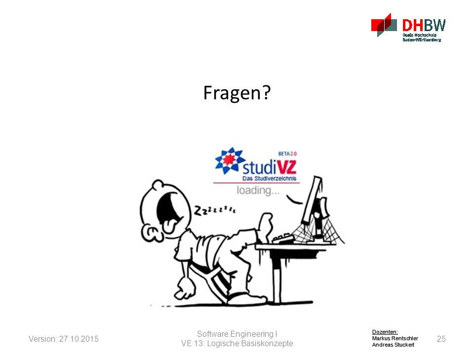 Fragen Software Engineering I Version: