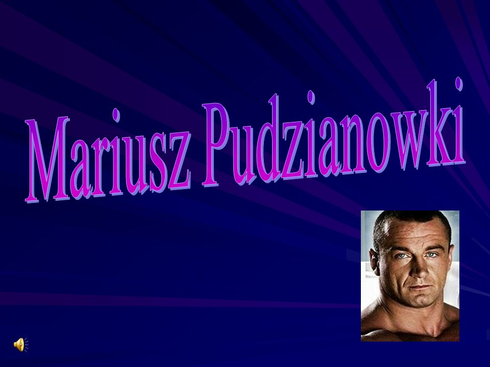 Mariusz Pudzianowki