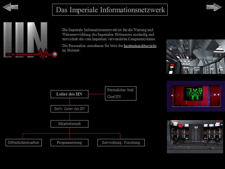 Das Imperiale Informationsnetzwerk