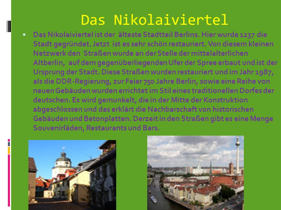 Das Nikolaiviertel