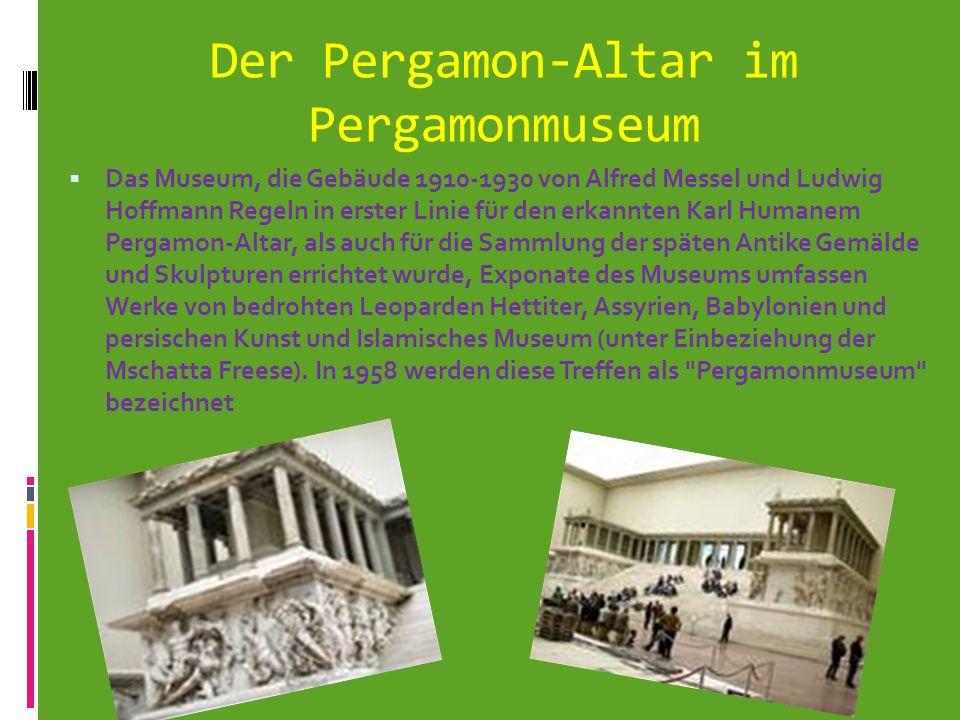 Der Pergamon-Altar im Pergamonmuseum