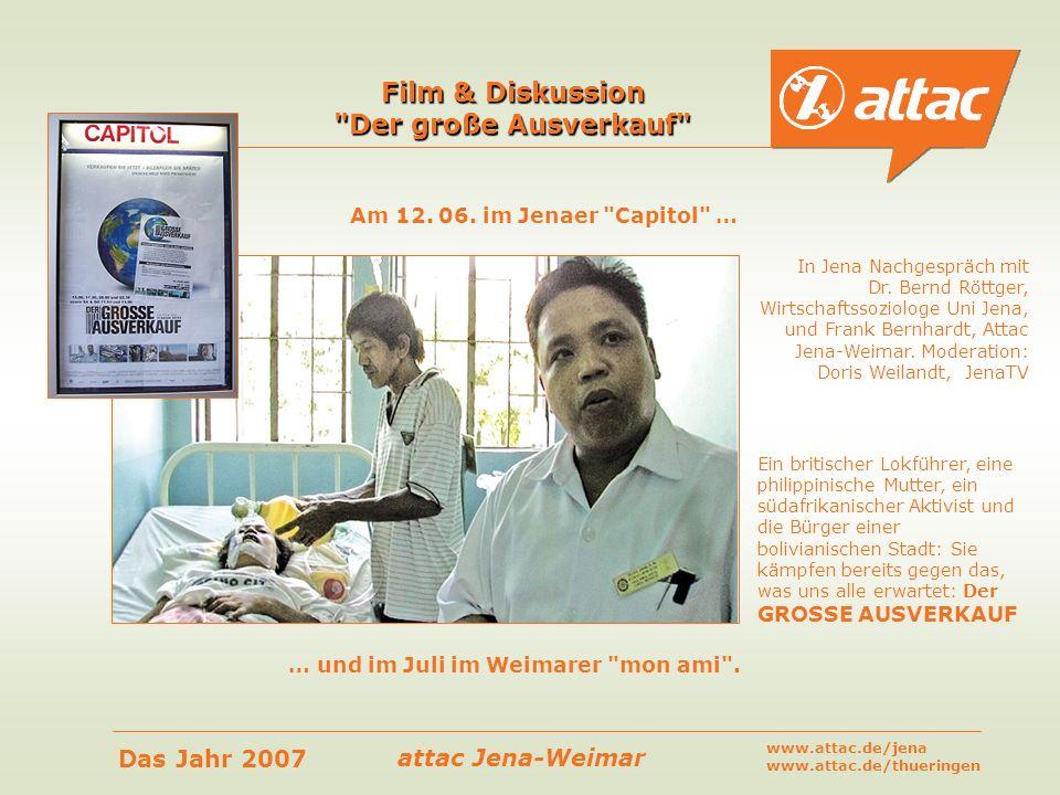 Film & Diskussion Der große Ausverkauf