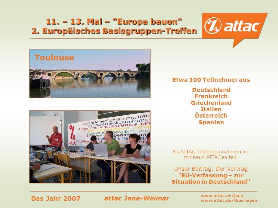 11. – 13. Mai – Europa bauen 2. Europäisches Basisgruppen-Treffen