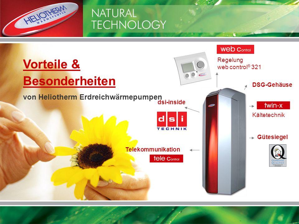 Vorteile & Besonderheiten von Heliotherm Erdreichwärmepumpen Regelung
