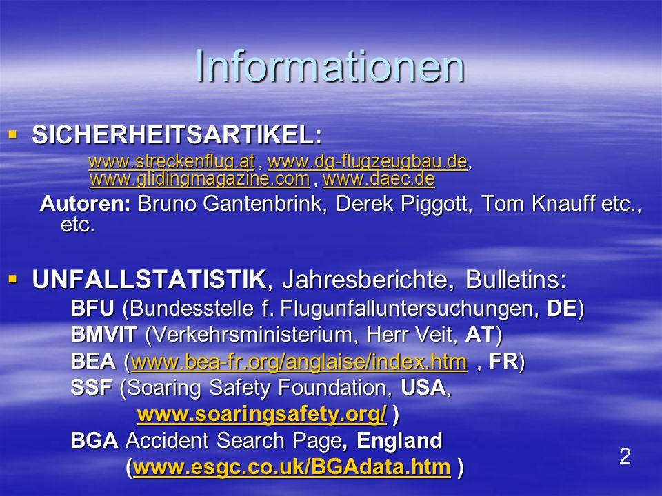 Informationen SICHERHEITSARTIKEL: