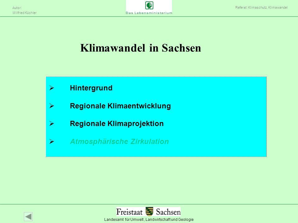 Klimawandel in Sachsen