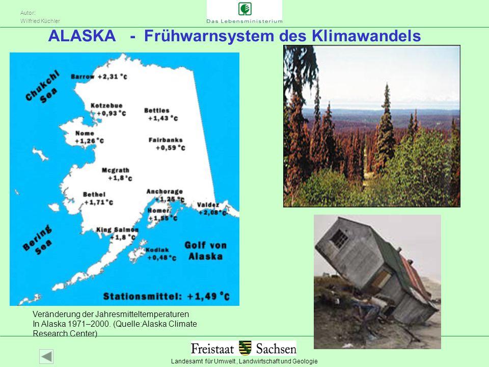 ALASKA - Frühwarnsystem des Klimawandels