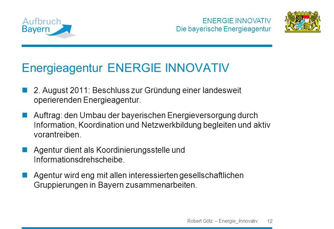 Energieagentur ENERGIE INNOVATIV