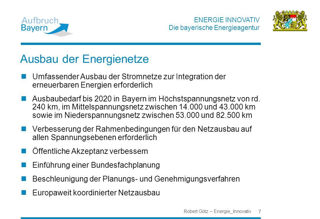 Ausbau der Energienetze