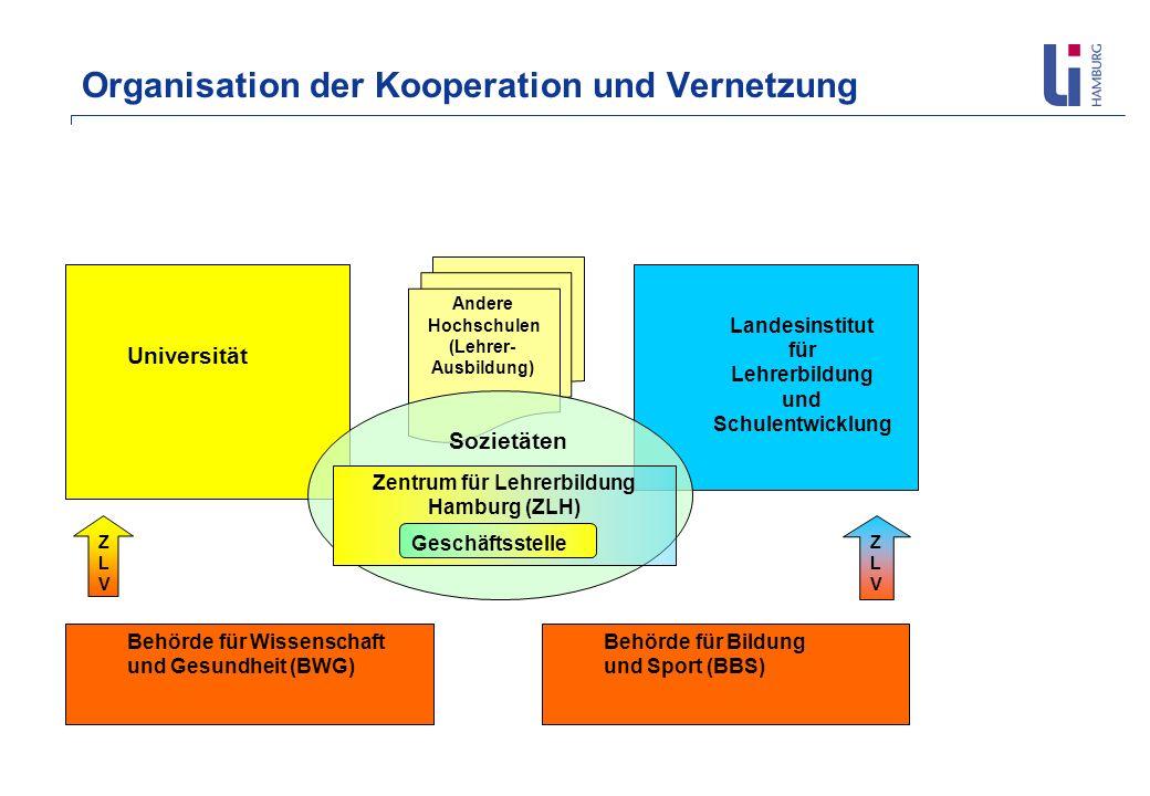 Organisation der Kooperation und Vernetzung