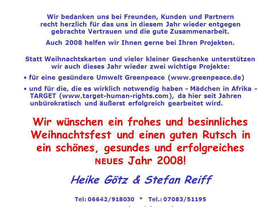 Heike Götz & Stefan Reiff
