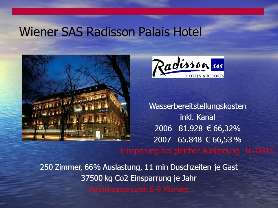 Wiener SAS Radisson Palais Hotel