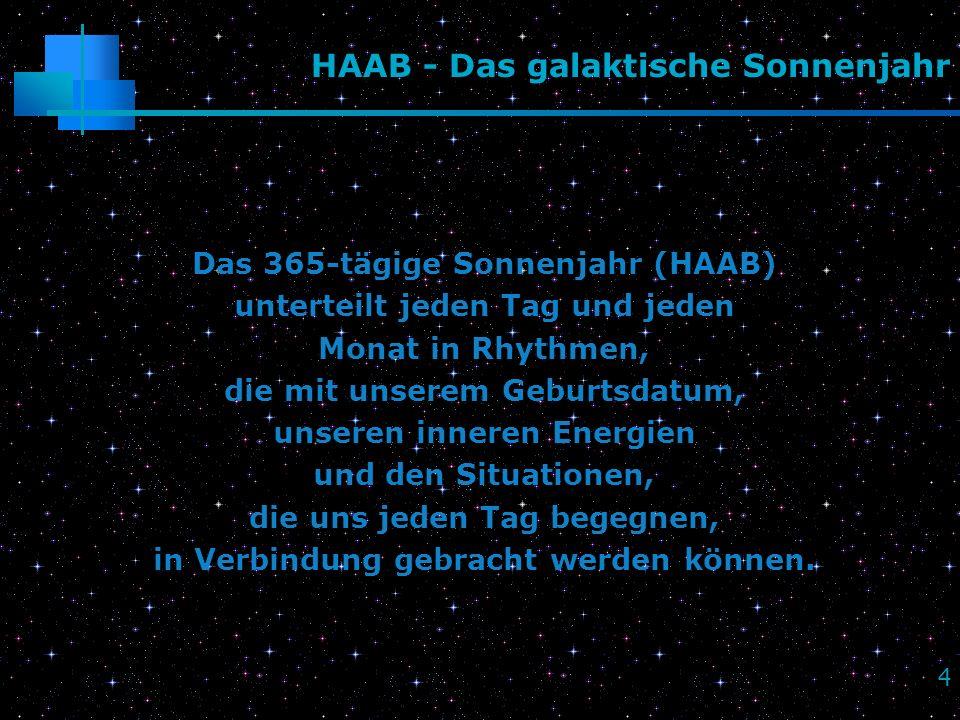 HAAB - Das galaktische Sonnenjahr