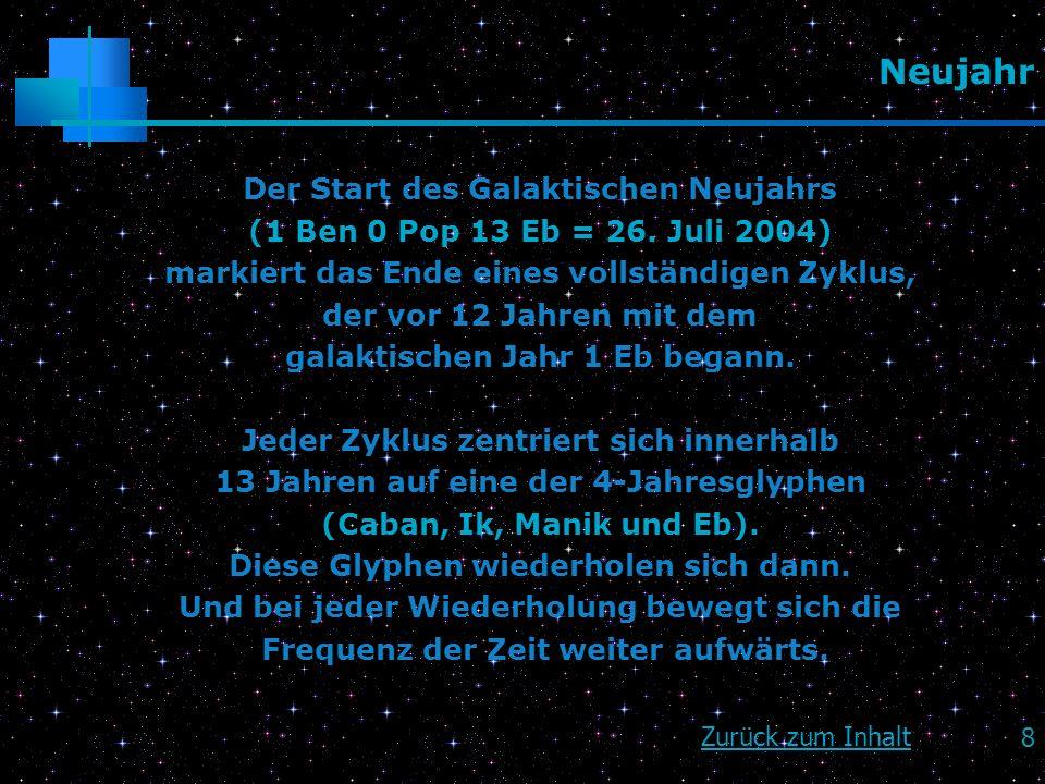 Neujahr Der Start des Galaktischen Neujahrs