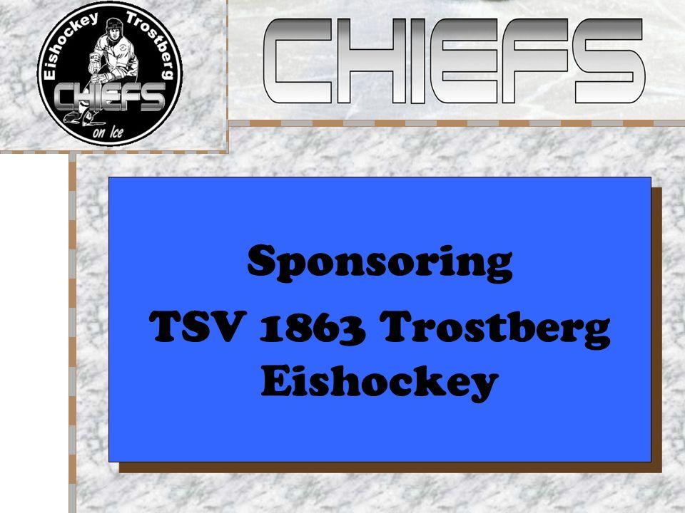 Sponsoring TSV 1863 Trostberg Eishockey