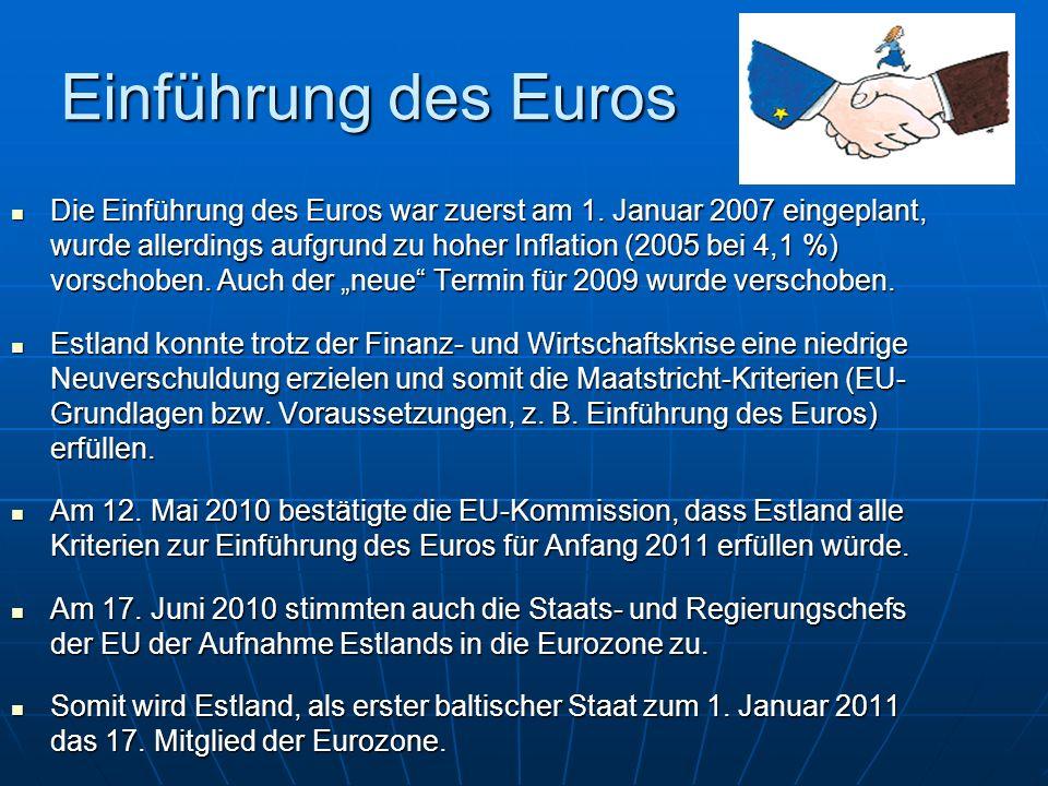 Einführung des Euros