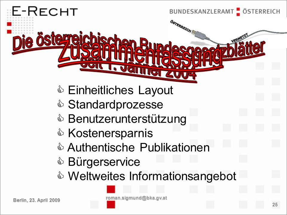 Die österreichischen Bundesgesetzblätter