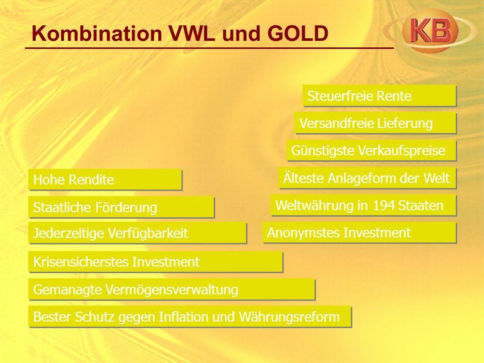 Kombination VWL und GOLD