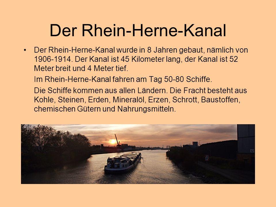 Der Rhein-Herne-Kanal