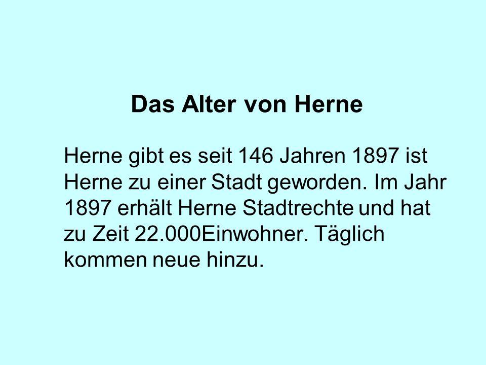 Das Alter von Herne