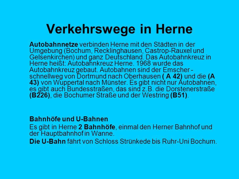Verkehrswege in Herne