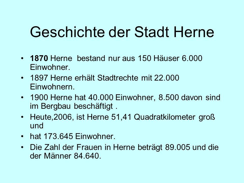 Geschichte der Stadt Herne