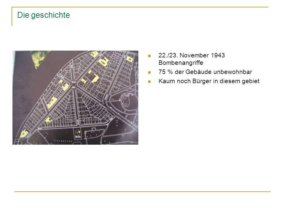 Die geschichte 22./23. November 1943 Bombenangriffe