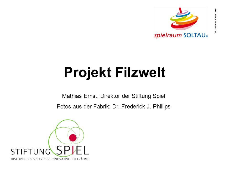 Projekt Filzwelt Mathias Ernst, Direktor der Stiftung Spiel