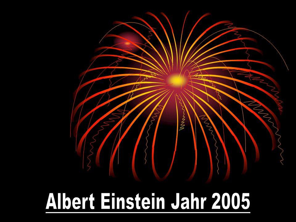 Albert Einstein Jahr 2005