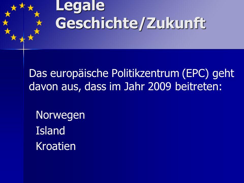 Legale Geschichte/Zukunft