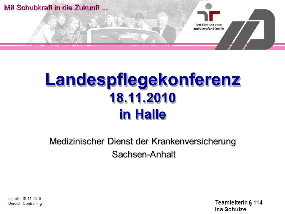 Landespflegekonferenz 18.11.2010 in Halle