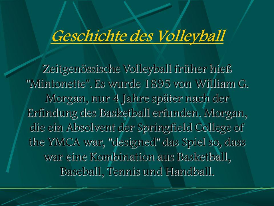 Geschichte des Volleyball