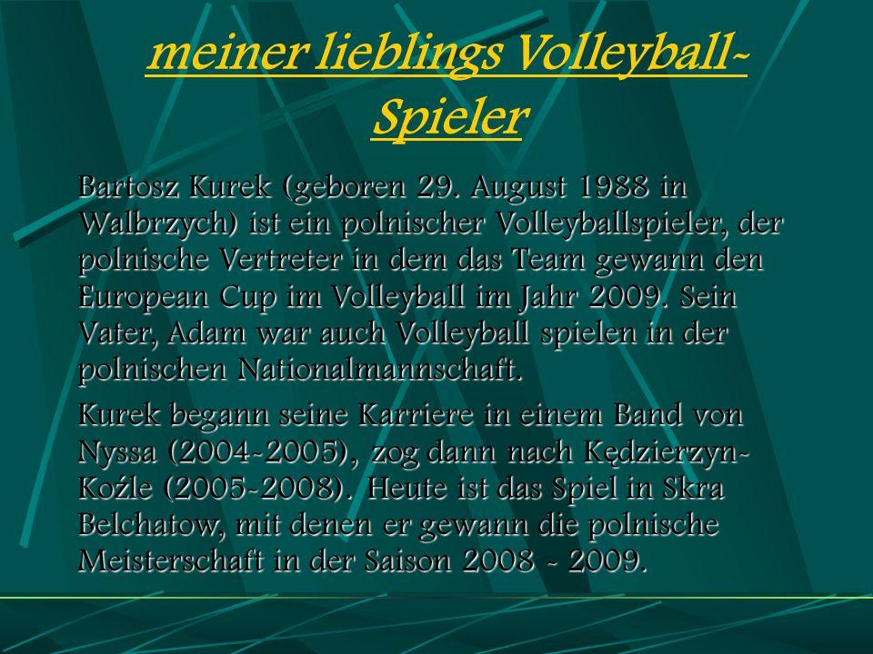 meiner lieblings Volleyball-Spieler