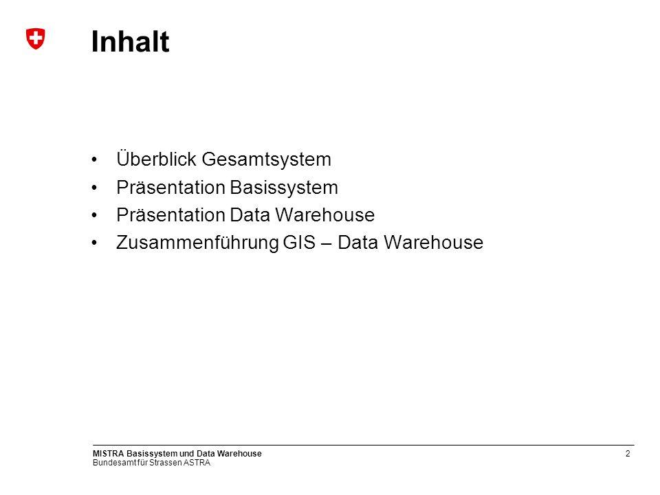 Inhalt Überblick Gesamtsystem Präsentation Basissystem
