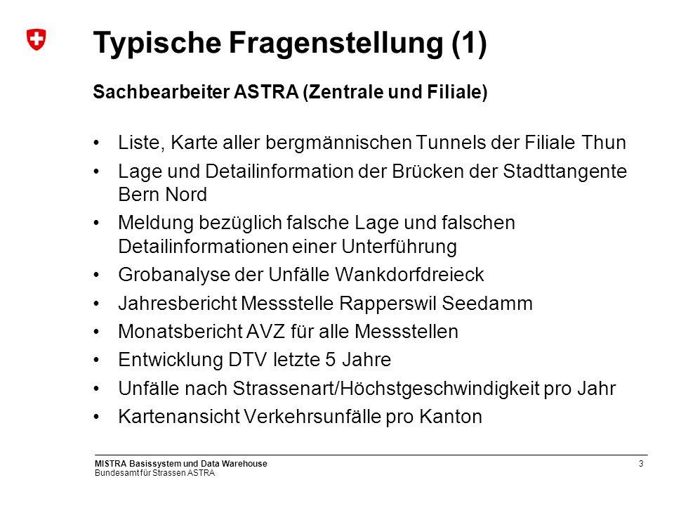 Sachbearbeiter ASTRA (Zentrale und Filiale)
