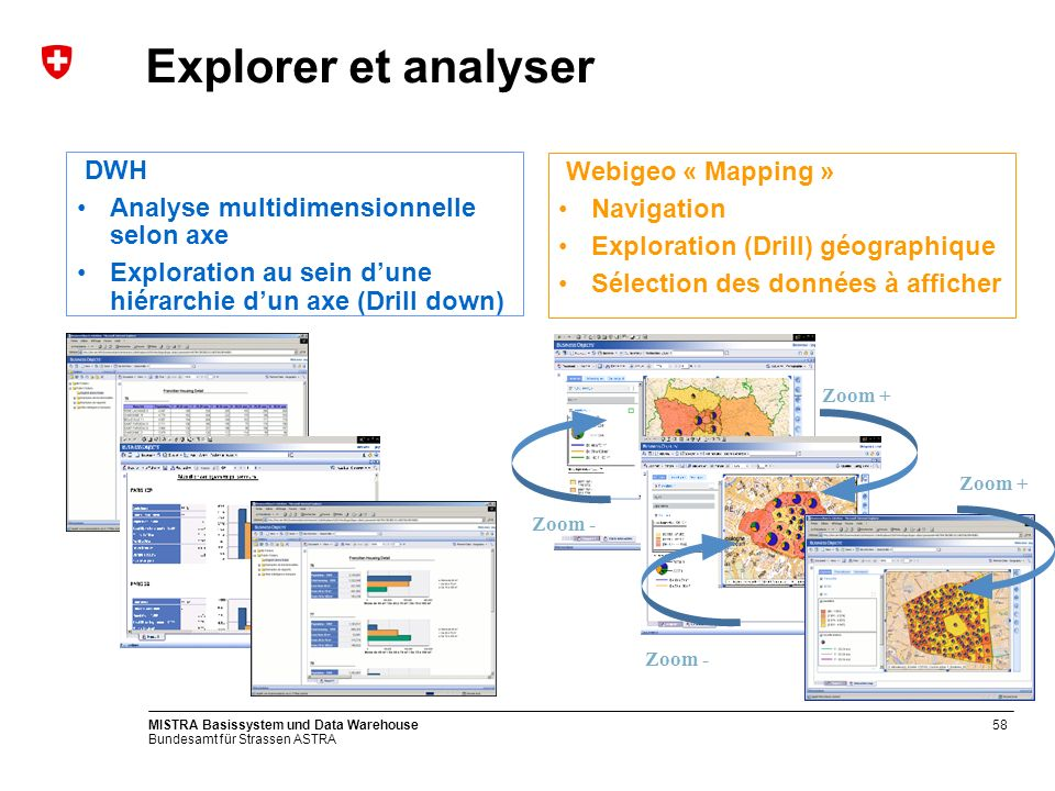 Explorer et analyser DWH Webigeo « Mapping »