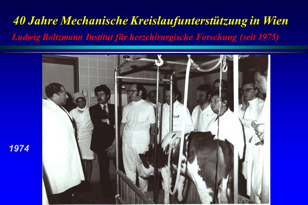 Ludwig Boltzmann Institut für herzchirurgische Forschung (seit 1975)