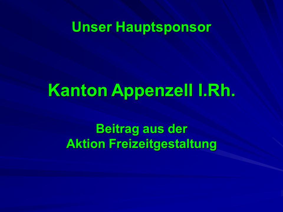 Kanton Appenzell I.Rh. Beitrag aus der Aktion Freizeitgestaltung