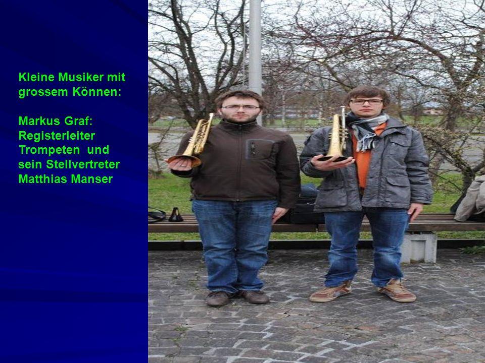 Kleine Musiker mit grossem Können: