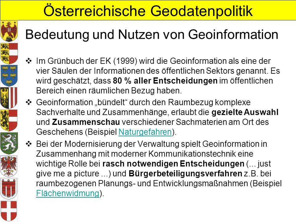 Bedeutung und Nutzen von Geoinformation