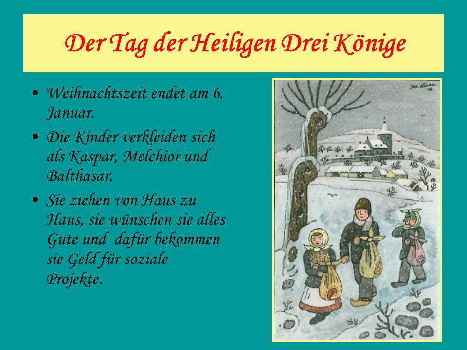 Der Tag der Heiligen Drei Könige