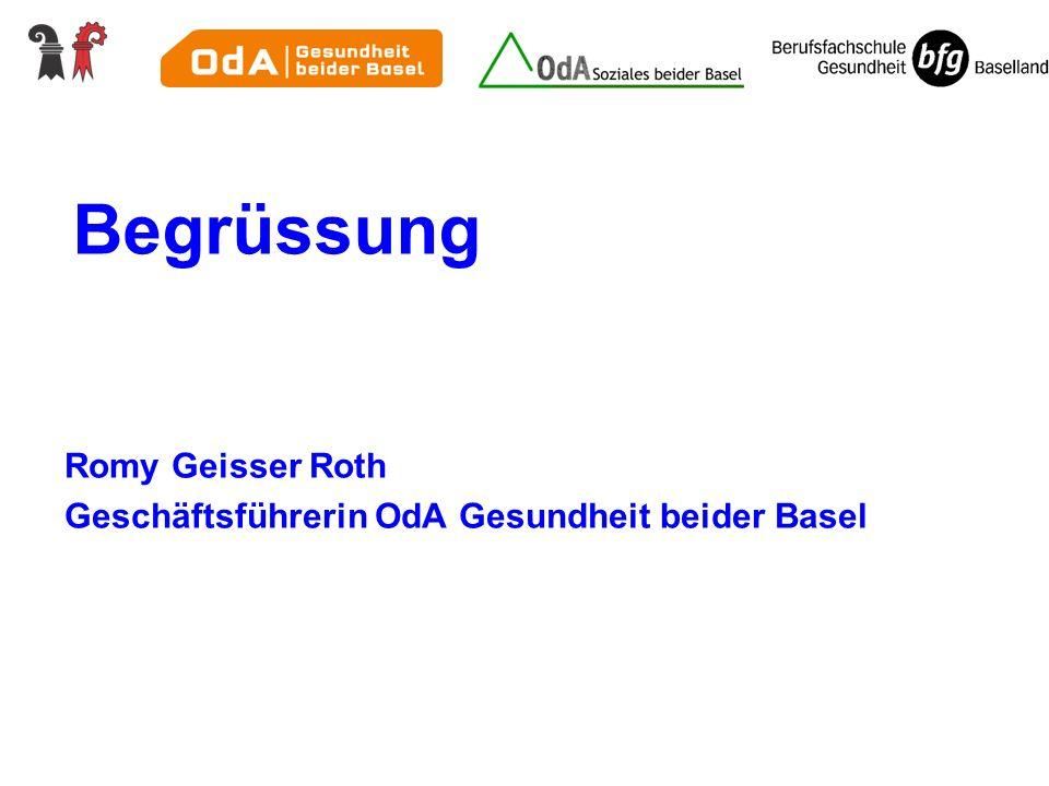 Begrüssung Romy Geisser Roth