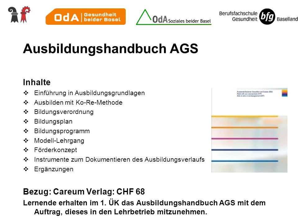 Ausbildungshandbuch AGS