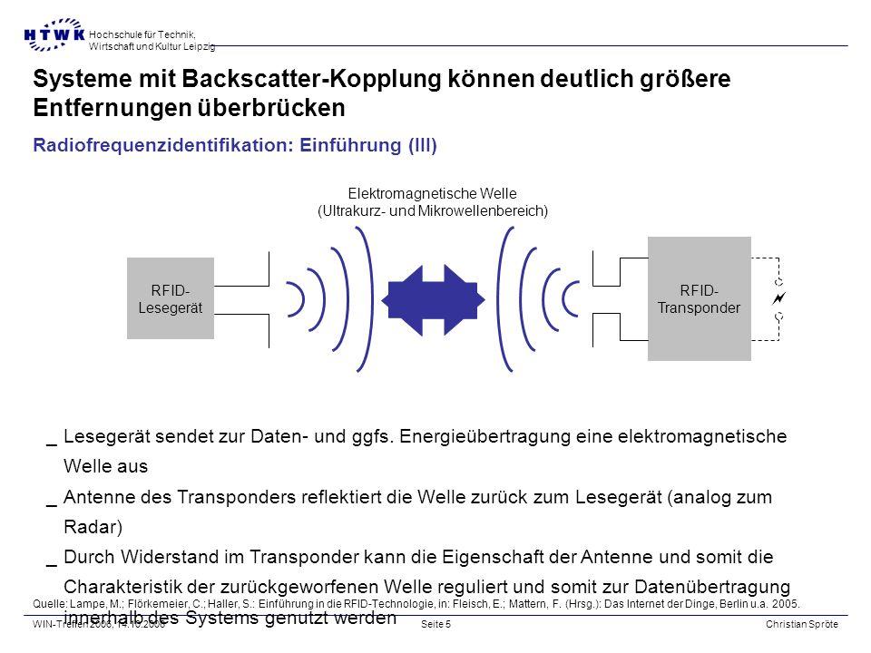 Systeme mit Backscatter-Kopplung können deutlich größere Entfernungen überbrücken